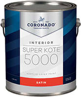 HANNA'S COLOR CENTER INC. Super Kote 5000 is designed for commercial projects—when getting the job done quickly is a priority. With low spatter and easy application, this premium-quality, vinyl-acrylic formula delivers dependable quality and productivity.boom