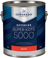 HANNA'S COLOR CENTER INC. Super Kote 5000 Exterior is designed to cover fully and dry quickly while leaving lasting protection against weathering. Formerly known as Supreme House Paint, Super Kote 5000 Exterior delivers outstanding commercial service.boom